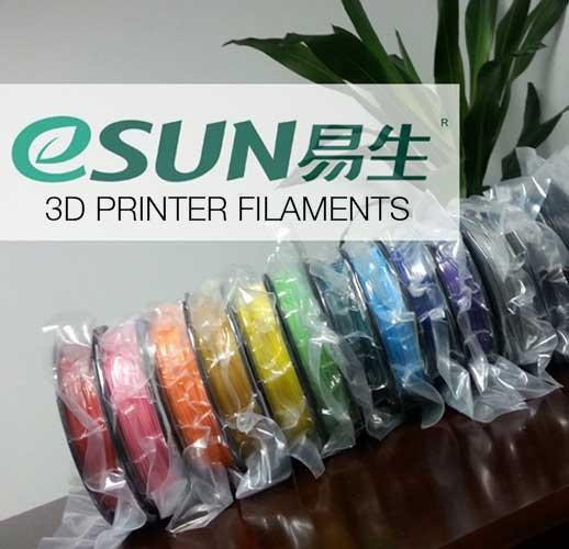 eSUN 3D Printer Filaments