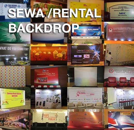 Aneka Backdrop