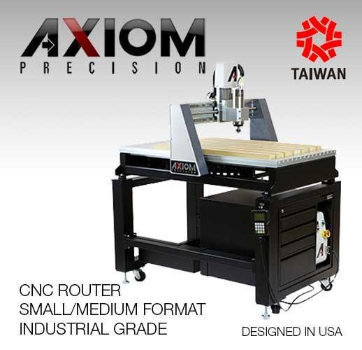 Axiom Precision CNC Router